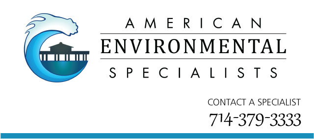 American Environmental Specialists Logo and phone